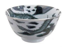 Dragon Small Bowl Black 12.7x6.5cm 350ml