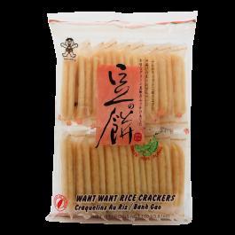 want want senbei green peas 108gr