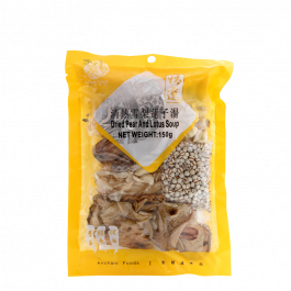 dried pear and lotus soup 150gr