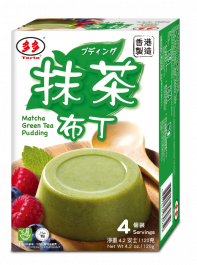 matcha green tea pudding 120gr
