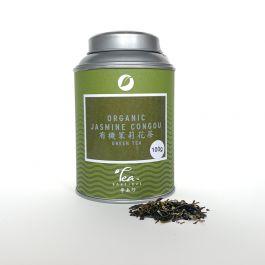 Organic jasmine congou blik 100gr