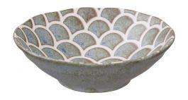 Vert Sauge Mermaid Design Bowl 14.5x4.4cm 250ml