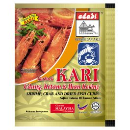 seafood & salted fish curry powder 24gr