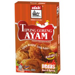 hot & spicy fried chicken coating flour 100gr