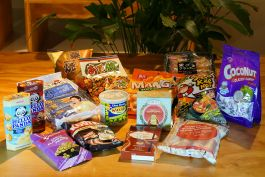 Kerst pakket 6 - asian snacks