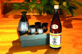 Kerst pakket 10 - serve sake