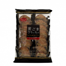Black sesame thin cracker 264gr