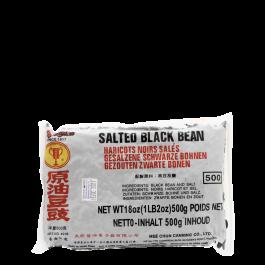 salted black beans 500gr