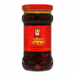 peanuts in chili oil 275gr