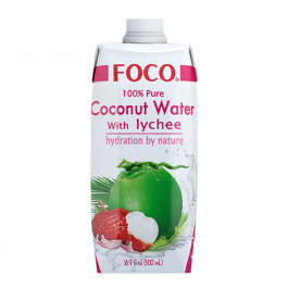 coconut water with lychee 500ml