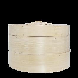 2 bamboo steamer 1 cover 10i