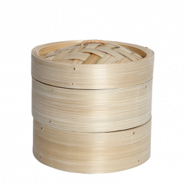 2 bamboo steamer 1 cover 6i