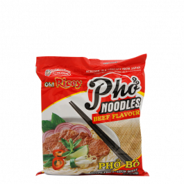 instant rice noodle beef pho bo 70gr
