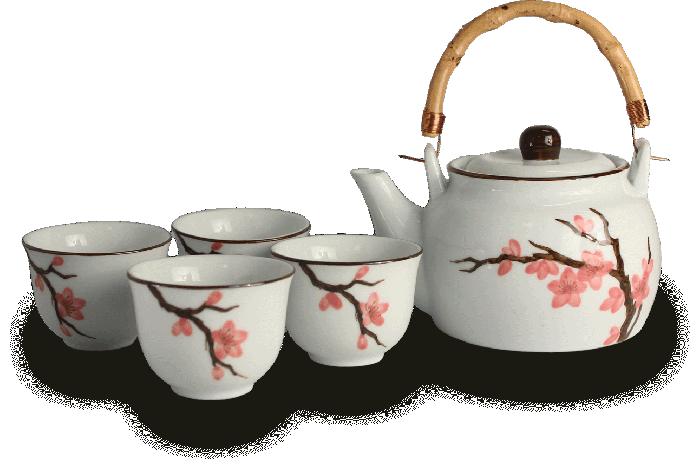 Sakura Theeset 800ml 1:4 set