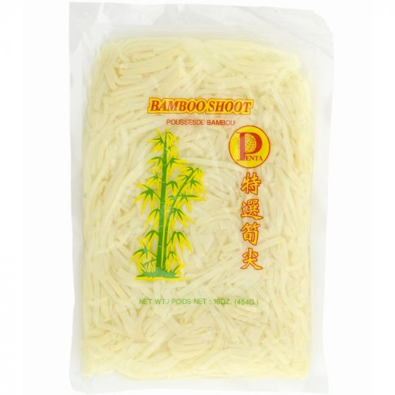 bamboo shoots strips vacuum 454gr
