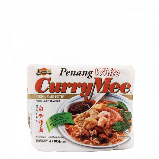 penang white currymee 4x105gr