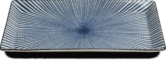 Sendan Tokusa sushi Schaal 23x11.5cm