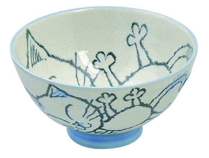 Kawaii Bowl Children bowl Blue 11.5x6cm 250ml