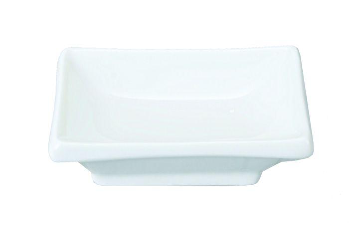 White Series Sauce Plate 10x6cm
