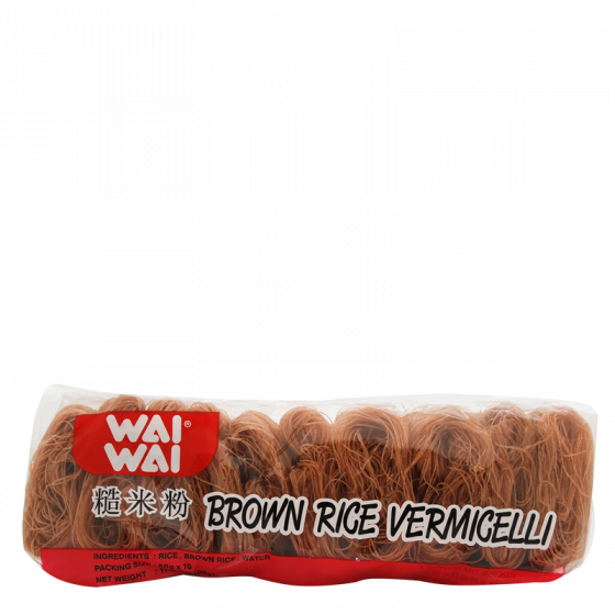 brown rice vermicelli 10x50gr