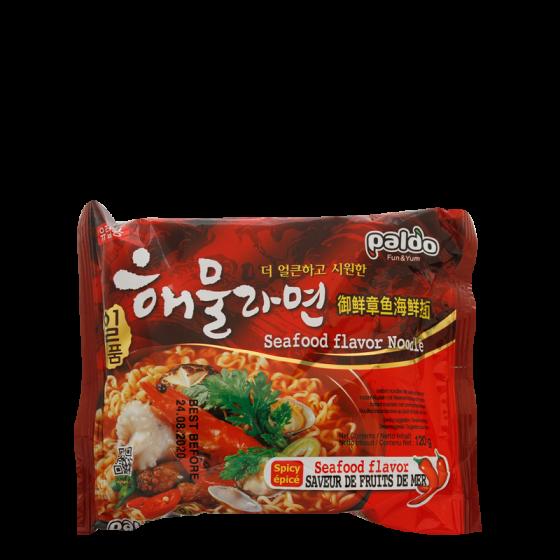 instant noodles seafood flavor 120gr