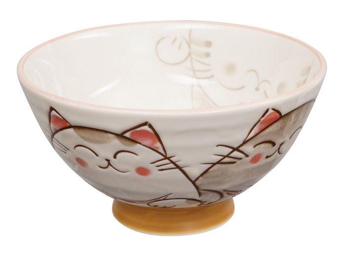 Kawaii Bowl Cat 11.5x6cm 300ml