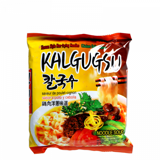 instant noodle chicken onion 100gr