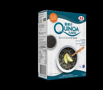 quinoa flakes black sesame 6x28gr