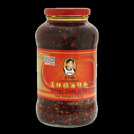 crispy chilli in oil 700gr