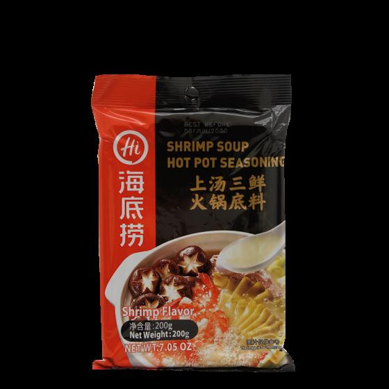 shrimp soup hot pot seasoning 200gr