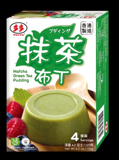 matcha green tea pudding 120gr