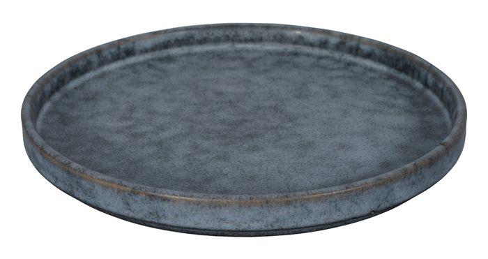 Nezumi Grey Plate 17x2cm