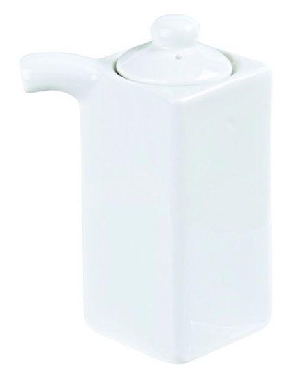 White Series Soy Dispenser 4.5x10.5cm 85ml