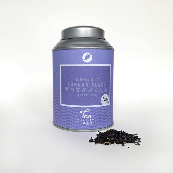 Organic yunnan black blik 100gr