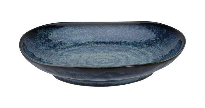 Cobalt Blue Pasta Plate 21x5.2cm