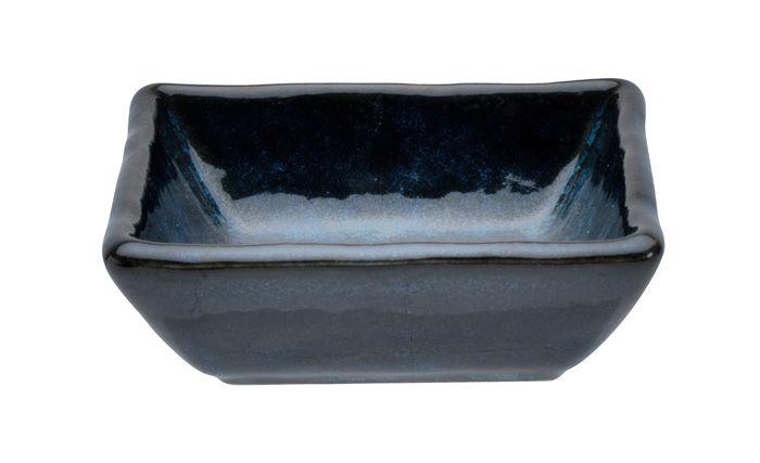 Cobalt Blue Sq Mini Plate 8.8x8.8x3cm 100ml