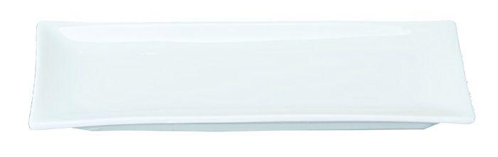 White Series Plate 26x11cm