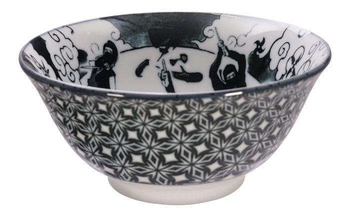 Tayo Bowl Ninja 14.8x7cmh 500ml