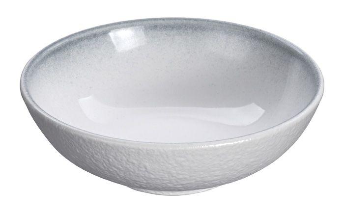 White Grey Rim Bowl 10cm