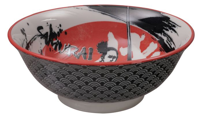 Noodle Bowl Samurai 20.3x8cmh 1000ml