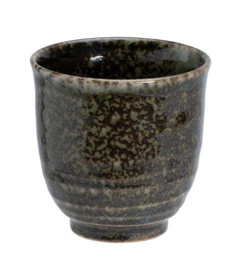 Shinryoku Green Sori Tea Cup 8x7.9cmh