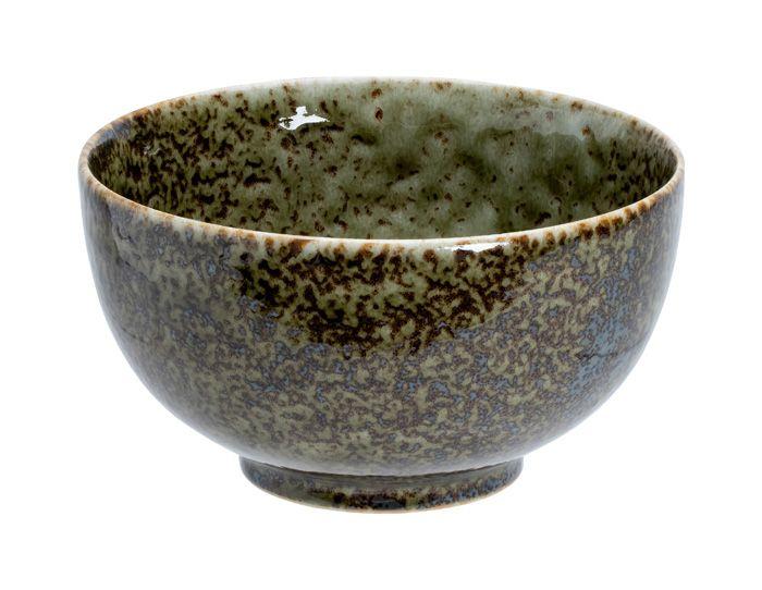 Shinryoku Green Okonomi Bowl S 13.2x7.4cmh