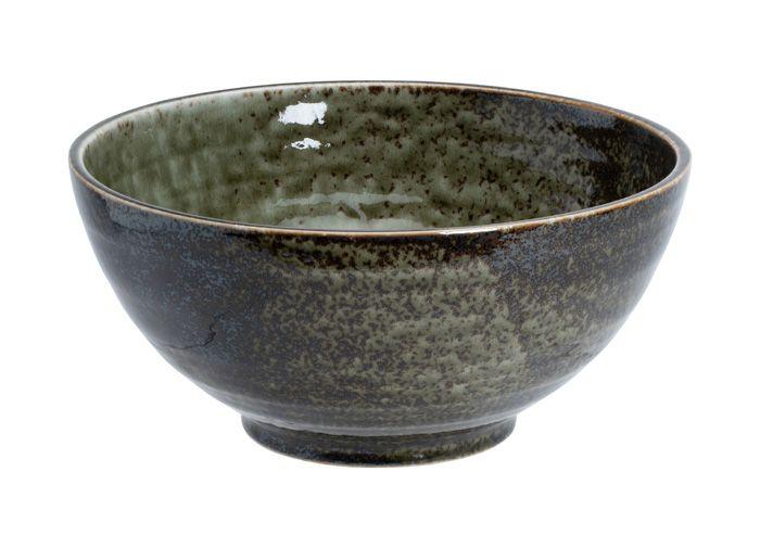 Shinryoku Green Sanuki Bowl L 21.5x10cmh