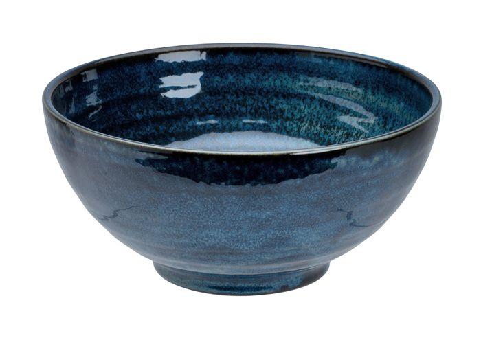 Cobalt Blue Large Sanuki Bowl 21.5X10cm