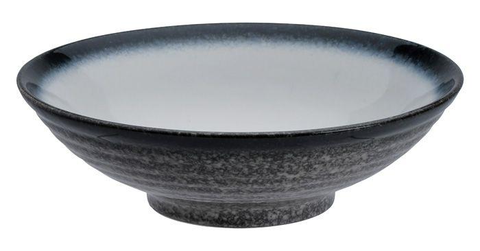 Tajimi Blue/White Bowl 24.5x7.5cm
