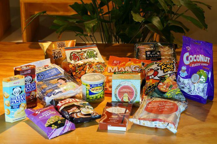 Kerst pakket 6 - asian snacks