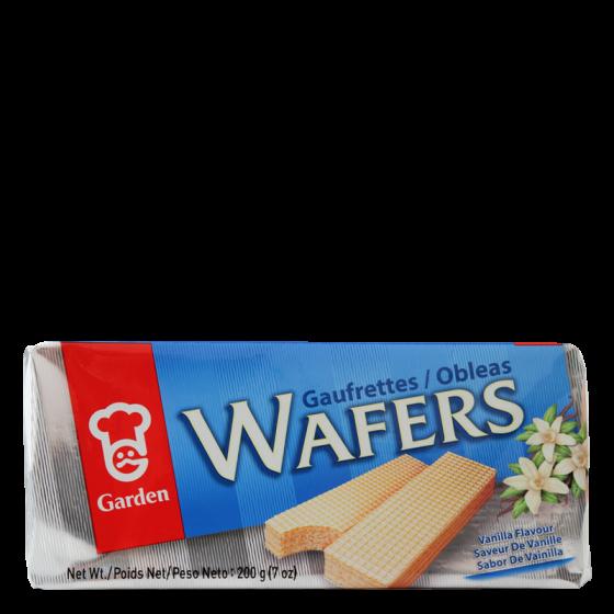 vanilla flavoured wafers 200gr