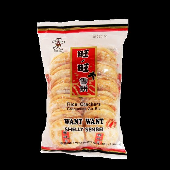 want want shelly senbei 150g