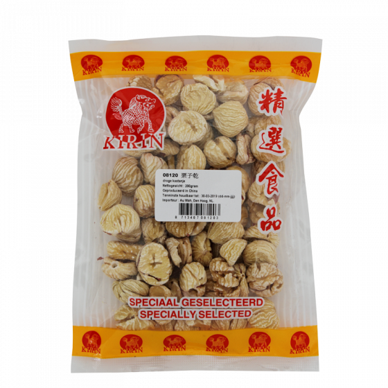 dried chestnuts 200gr