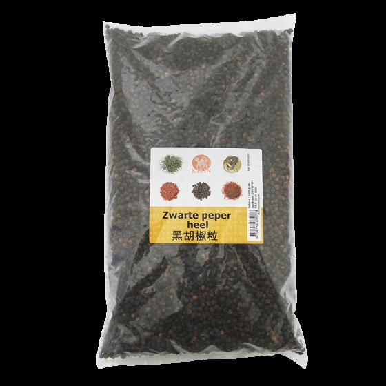 peper korrels zwart 1kg